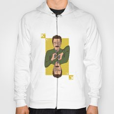 Walter White King of Hearts Hoody