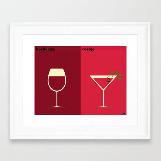 l'apéro Framed Art Print