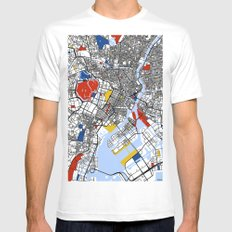 Tokyo Mens Fitted Tee White SMALL