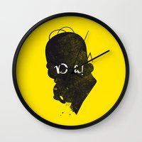 Doh – Homer Simpson Si… Wall Clock
