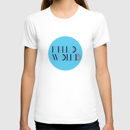 Hello World | Comp Sci Series T-shirt