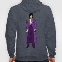 Prince - Purple Rain Pattern - Violet Hoody