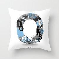 O DOKS Throw Pillow