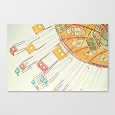 Sea Swings Canvas Print