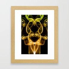 Smoke Photography #9 Framed Art Print