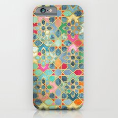 Gilt & Glory - Colorful Moroccan Mosaic iPhone 6 Slim Case