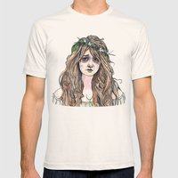 Ophelia Mens Fitted Tee Natural SMALL