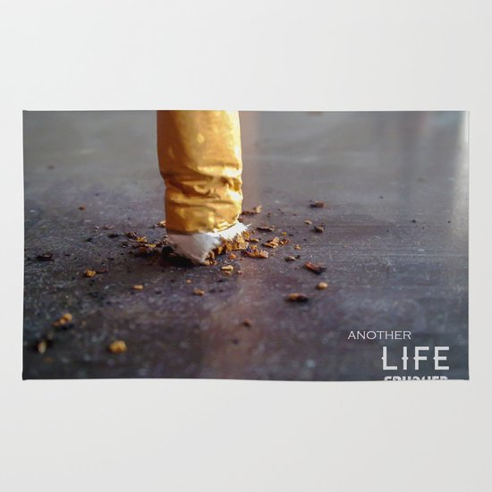 Smoking Kills Area & Throw Rug