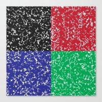 Marble Composition Composition Canvas Print