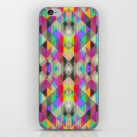 Winter Geometrics iPhone & iPod Skin