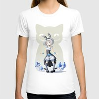 alice T-shirts featuring Alice by Freeminds