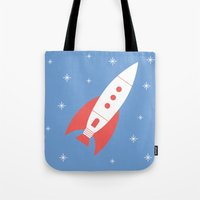 #78 Rocket Tote Bag
