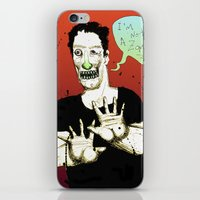 Not A Zombie iPhone & iPod Skin