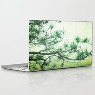 Winter Pine Laptop & iPad Skin