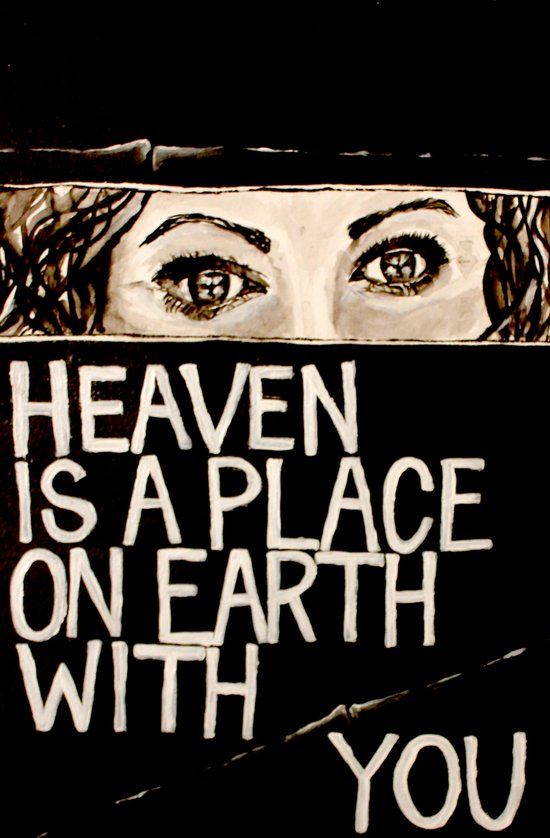 Heaven is a Place on Earth Art Print