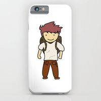 iPhone & iPod Case featuring Backpack by justang8