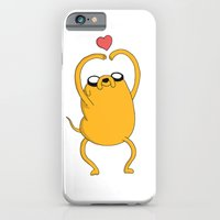 iPhone Cases featuring Adventuretime - Lovely Jake by The Big Duo