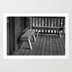 Sit Down and Take a Load Off Art Print