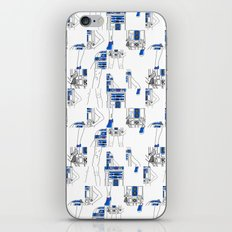Robot Girl Cubism iPhone & iPod Skin