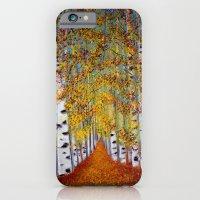 Birch trees iPhone 6 Slim Case