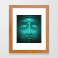 Buddha I. Framed Art Print