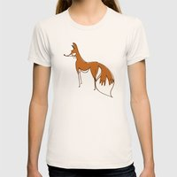 Jink! Womens Fitted Tee Natural SMALL