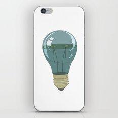 Life in a lightbulb. Night iPhone & iPod Skin