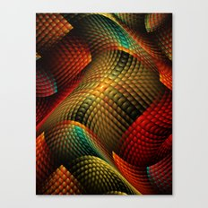 Bed of Snakes Canvas Print