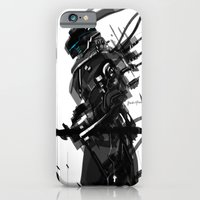 Black And White Tech Zer… iPhone 6 Slim Case