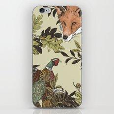 Fox & Pheasant iPhone & iPod Skin