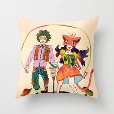 LSD love Throw Pillow