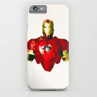 Polygon Heroes - Iron Man iPhone 6 Slim Case