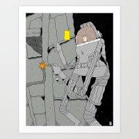 Stranded. Art Print