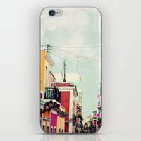Colorful Buildings Of Ol… iPhone & iPod Skin