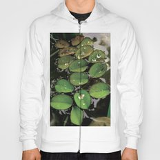 Mini Water Lilies and Water Bug Hoody