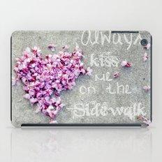 Kisses On The Sidewalk iPad Case