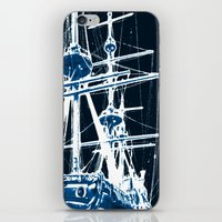 Light's storm iPhone & iPod Skin