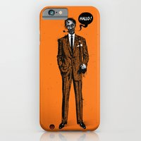iPhone Cases featuring HALLOWEEN ZOMBIES by kravic