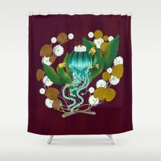 pitigüey Shower Curtain
