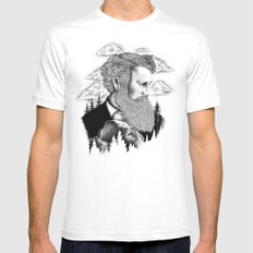 JOHN MUIR SMALL Mens Fitted Tee White