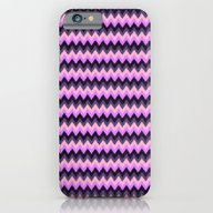 iPhone & iPod Case featuring Zigzag Digital Paint Pat… by Apgme