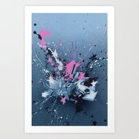 All Directions - The Fan… Art Print