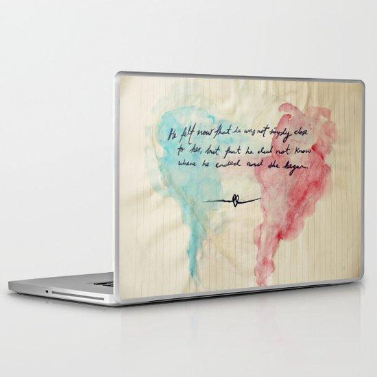 Tolstoy's Love Laptop & iPad Skin