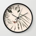 Tiger's Tranquility Wall Clock