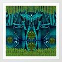 Underwater Feel Art Print