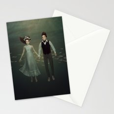 Underwater Couple Stationery Cards