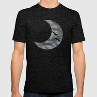 Close Call Mens Fitted Tee Tri-Black SMALL