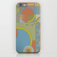 iPhone & iPod Case featuring art and crafts circles by anastasia5