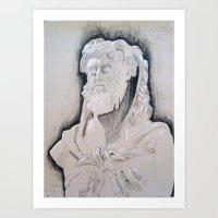 Herakles Art Print