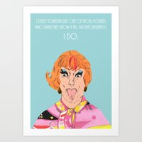 Happy Mother's Day from Endora Art Print